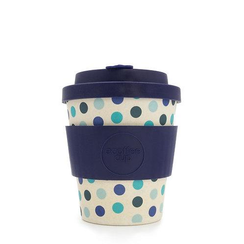 EcoffeeCup - Blue Polka