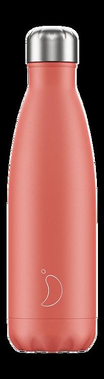 Μπουκάλι Θερμός Chilly's - Pastel Coral 500ml