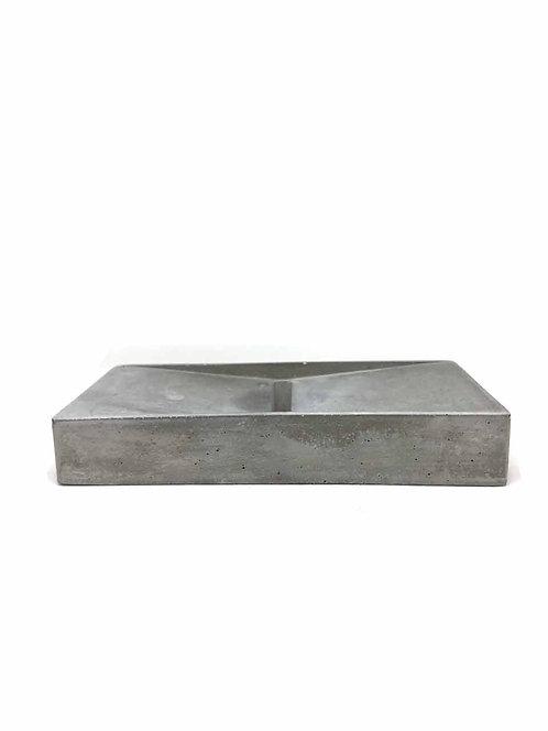 Sillage Cement Soap Holder Rectangle - Χειροποίητη Βάση Σαπουνιού Από Τσιμέντο