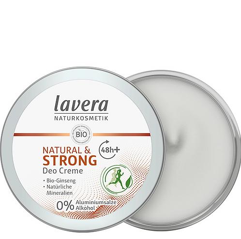 Lavera Κρεμώδες αποσμητικό Natural & Strong - 48h Προστασία