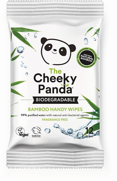 Cheeky Panda Handy Wipes - Υγρά Μαντηλάκια Από Μπαμπού