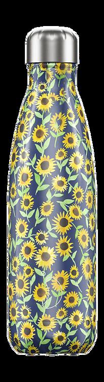 Μπουκάλι Θερμός Chilly's - Floral Sunflower 500ml