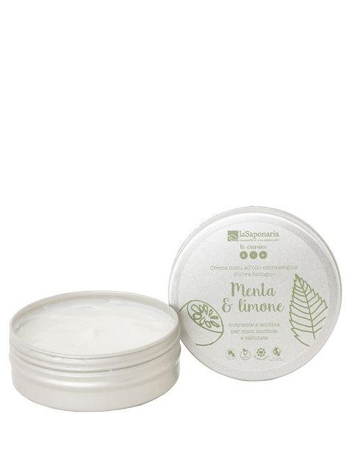 Hand Cream Mint & Lemon - Κρέμα Χεριών Για Ταλαιπωρημένα Χέρια