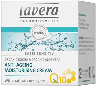 Lavera Basis Sensitiv Q10 Day Cream - Aντιγηραντική Kρέμα Hμέρας