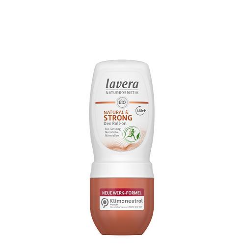 Lavera Natural & Strong  Αποσμητικό Roll on - 48h Προστασία