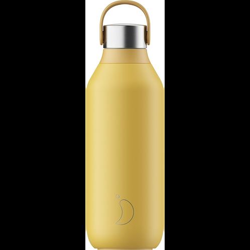 Μπουκάλι Θερμός Chilly's Series 2- Pollen Yellow 500ml