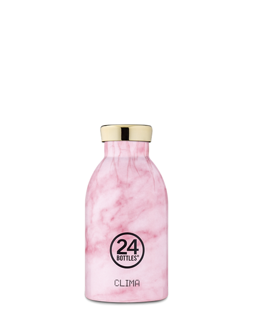 24 Bottles Clima - Pink Marble 330ml