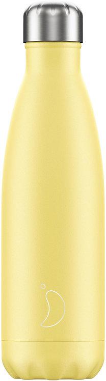 Μπουκάλι Θερμός Chilly's - Pastel Yellow 500ml