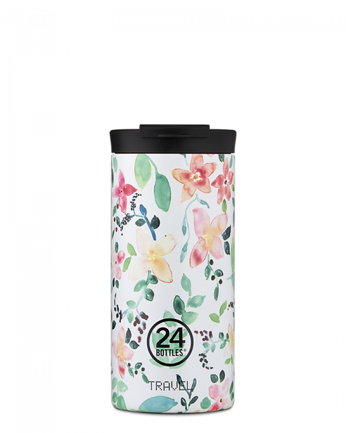 24 Bottles Travel Tumbler Little Buds - Ποτήρι Θερμός 600ml
