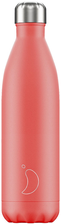 Μπουκάλι Θερμός Chilly's - Pastel Coral 750ml