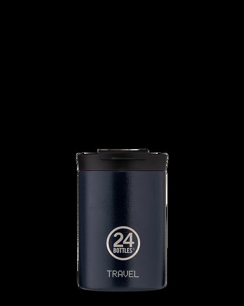 24 Bottles Travel Tumbler  Deep Blue - Ποτήρι Θερμός 350ml