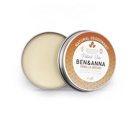 Ben & Anna Deo Creme / Αποσμητικό Κρέμα - Vanilla Orchid