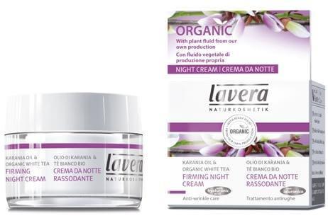 Lavera Firming Night Cream - Συσφικτική Κρέμα Νυχτός Με Έλαιο Karanja&Λευκό Τσάι