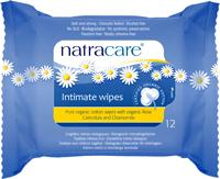 Natracare Υγρά Μαντηλάκια Για Την Ευαίσθητη Περιοχή