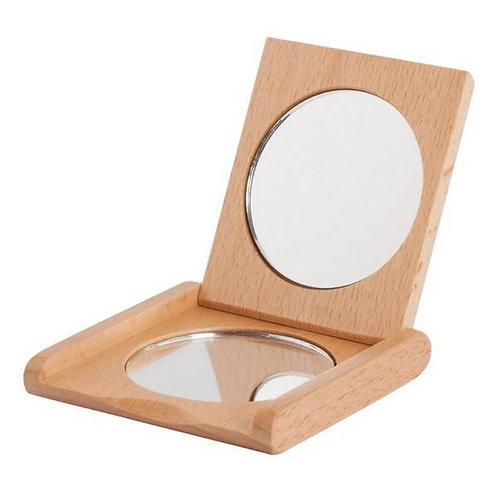 Pocket Folding Mirror - Ξύλινος Καθρέφτης