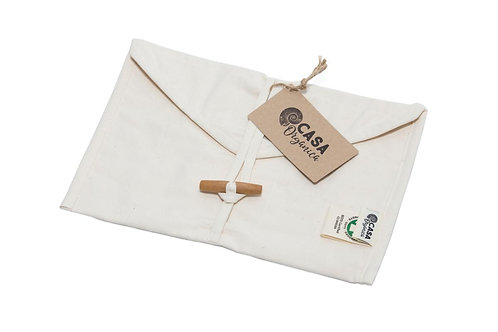 Snack Pouch - Φάκελος Μεταφοράς Φαγητού 100% Οργανικό Βαμβάκι