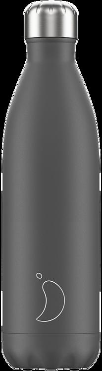 Μπουκάλι Θερμός Chilly's - Monochrome Grey 750ml