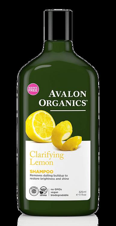 Avalon Organics Clarifying Lemon Shampoo - Σαμπουάν Για Λιπαρά & Θαμπά Μαλλιά