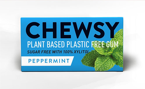 Chewsy - Plastic Free Chewing Gum Peppermint