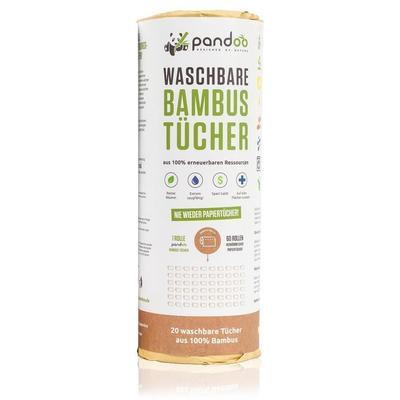 Washable Bamboo Towels - Πλενόμενο Ρολό Κουζίνας Bamboo Πολλαπλών Χρήσεων
