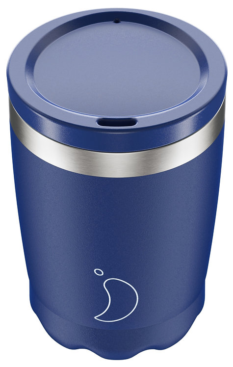Coffee Cup Chilly's -  MATTE BLUE | 340ML