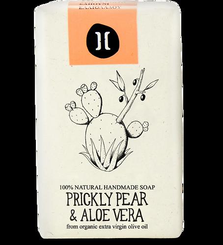 Helleo Prickly Pear & Aloe Vera Soap - Σαπούνι Φραγκόσυκο & Αλόη Βέρα