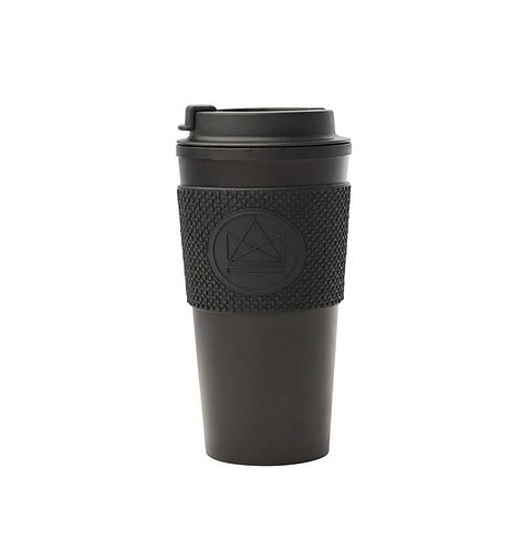 Neon Kactus Double Walled Coffee Cup 450ml - Rock Star
