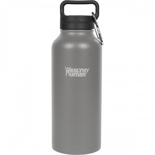 Healthy Human 32oz Stein - State Grey Μπουκάλι Θερμός 946ml