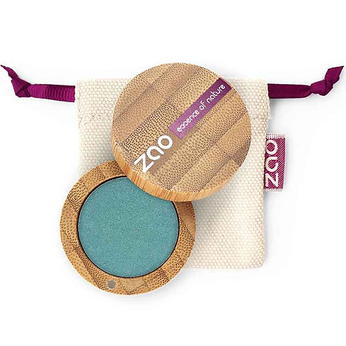 ZAO Eyeshadow Pearly - Βιολογική Σκιά 127 Peacock Blue
