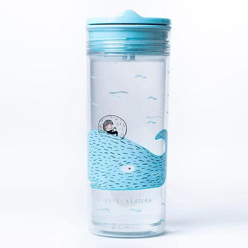 Slide Cup Crystal - Ποτήρι Πολλαπλών Χρήσεων Whale