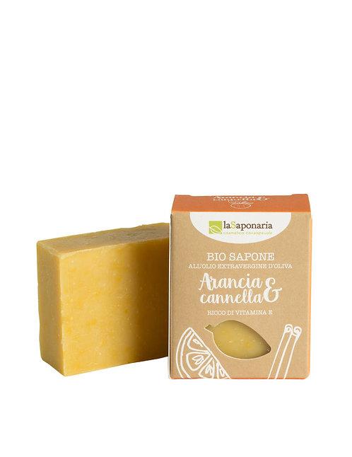 La Saponaria Soap Orange & Cinnamon - Σαπούνι Πορτοκάλι & Κανέλα