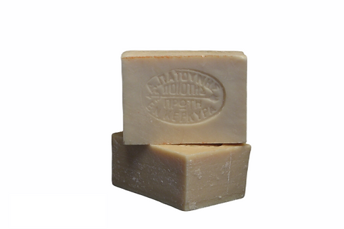 Patounis Olive Oil Soap - Πατούνης Άσπρο Σαπούνι Ελαιολάδου
