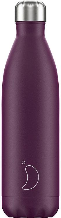 Μπουκάλι Θερμός Chilly's - Matte Purple 750ml