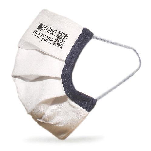 100% Organic Cotton 3 Layer Face Mask-Τριπλή Υφασμάτινη Μάσκα Πολλαπλών Χρήσεων