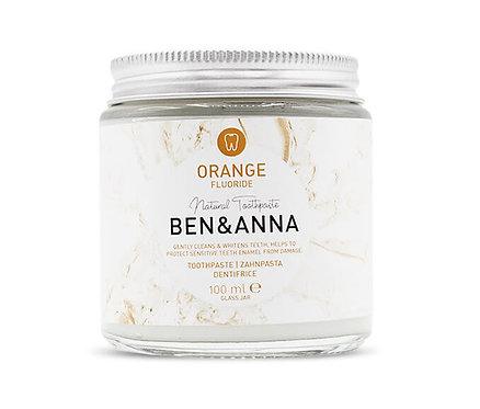 Ben & Anna Orange Toothpaste - Οδοντόκρεμα Με Πορτοκάλι