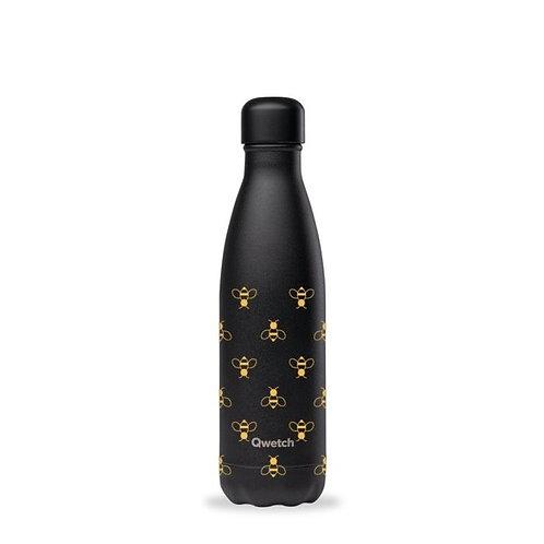 Μπουκάλι Θερμός Qwetch - All Black Bee 500ml
