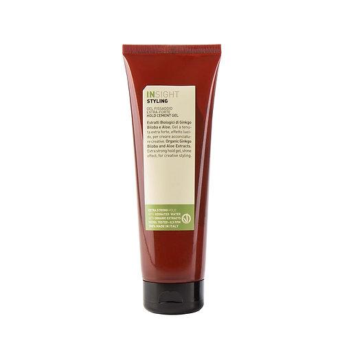 Insight Vegan Styling Hold Cement Gel -  Gel Μαλλιών / Δυνατό Κράτημα