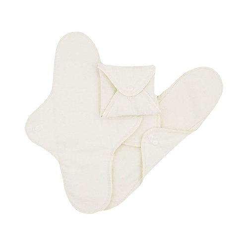 Υφασμάτινη Σερβιέτα Πολλαπλών Χρήσεων - SET 3 Long/Night White