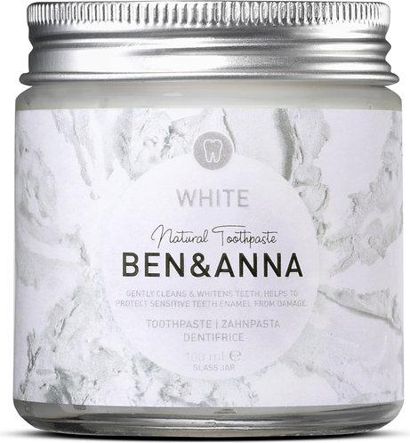 Ben & Anna White Toothpaste - Λευκαντική Οδοντόκρεμα