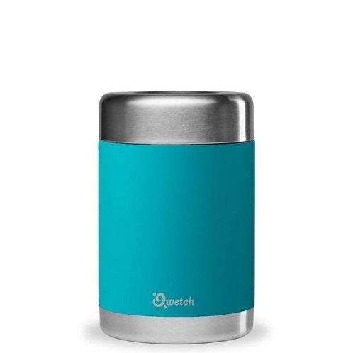 Qwetch Leakproof Insulated Food Jar - Ανοξείδωτο Θερμός Φαγητού Turquoise 500ml