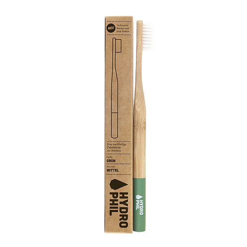 Hydrophil Toothbrush Bamboo Green - Οδοντόβουρτσα Bamboo Medium / Soft