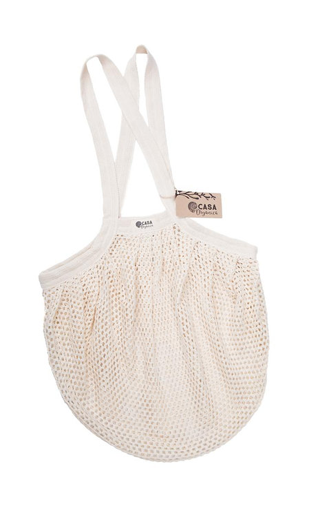 Starnet Bag / Τσάντα Από Οργανικό Βαμβάκι Με Πυκνό Δίχτυ - Natural