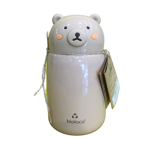 Ανοξείδωτο Θερμός Bioloco Kids Bear