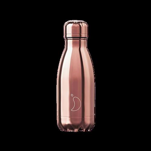 Μπουκάλι Θερμός Chilly's - Rose Gold 260ml