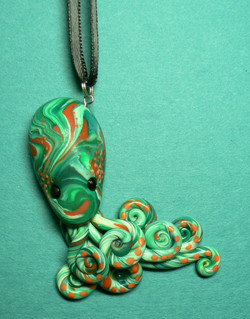 orange_and_green_octopus_by_blackmagdalena