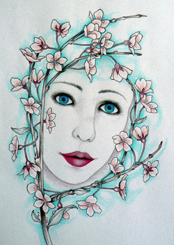 lady_in_the_blossoms_by_blackmagdalena-d3g5kfp