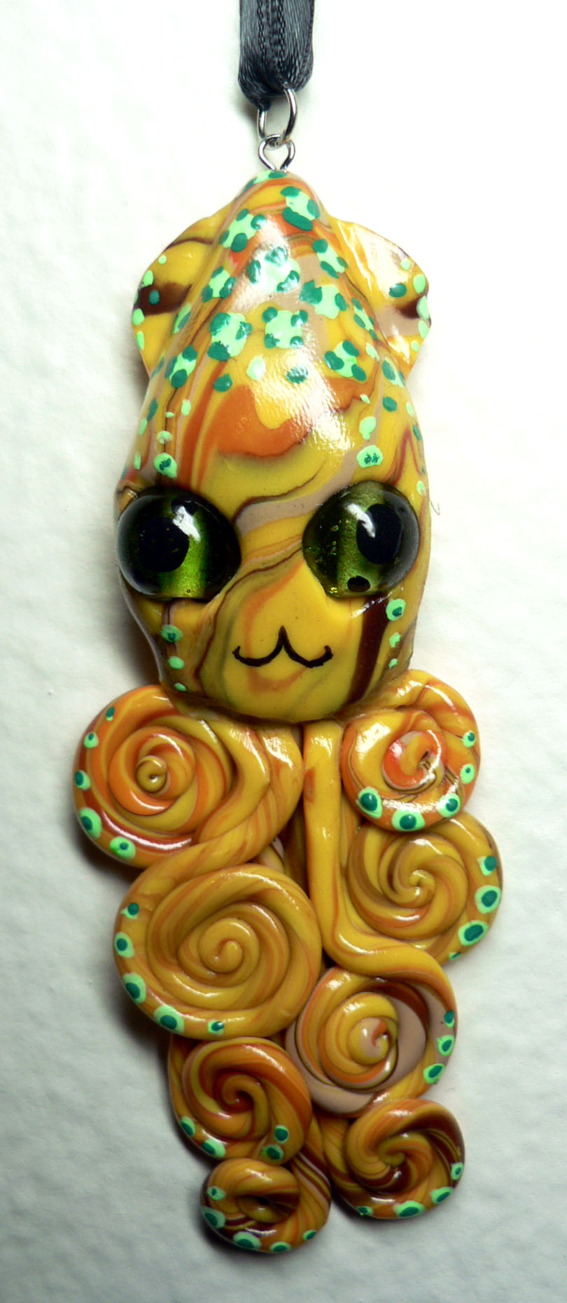kitty_cat_squid_charm_by_blackmagdalena