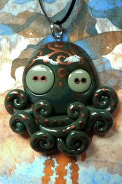 green_and_copper_octopus_by_blackmagdalena-d4hhi92