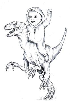 baby_riding_velociraptor_by_blackmagdalena-d6tqq4k