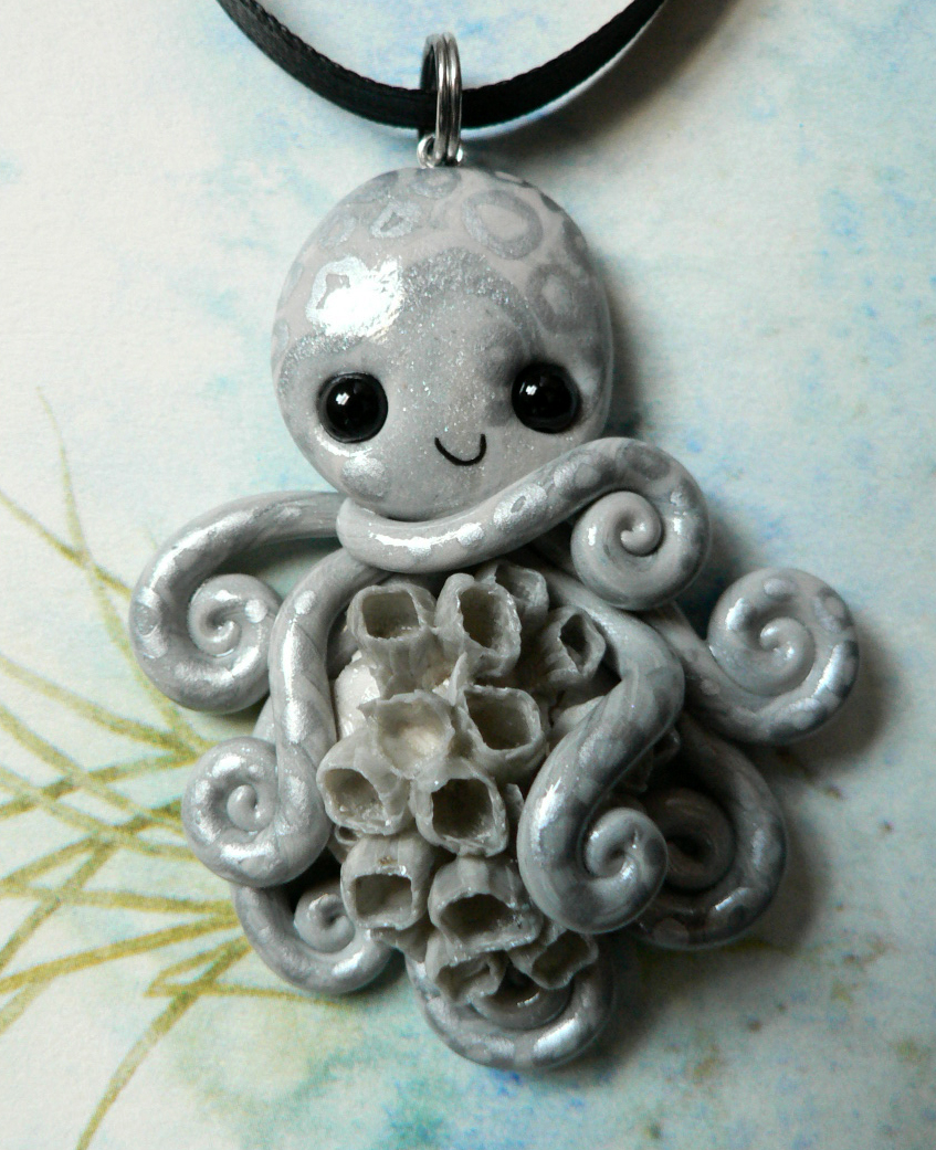 gray_barnacled_octopus_necklace_by_blackmagdalena-d4o15st